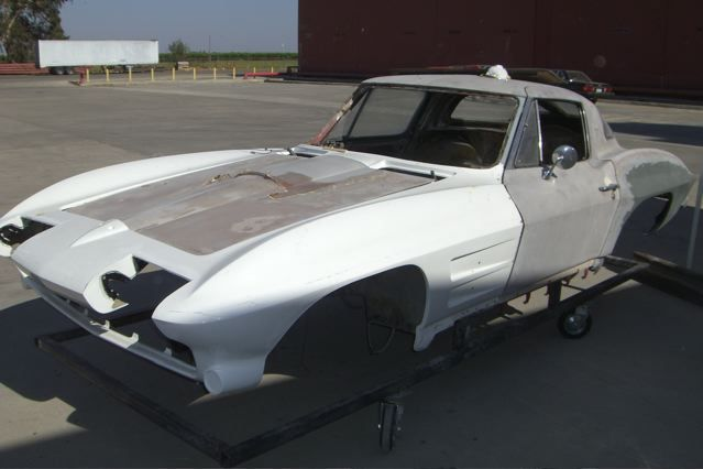 1963 Corvette Coupe Pro Touring Project C5 C6 Chassis For