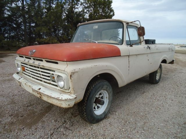 1963 ford f 100 base standard cab pickup 2 door 5 4l for. Black Bedroom Furniture Sets. Home Design Ideas