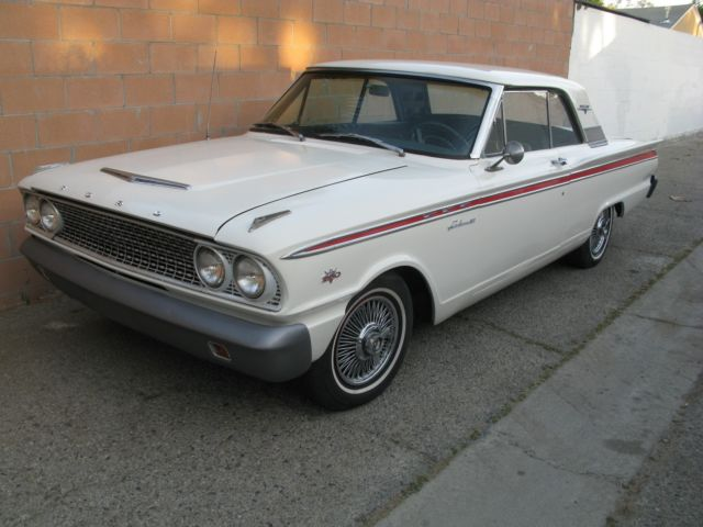 1963 FORD FAIRLANE SPORT COUPE BUCKET SEAT CONSOL FASTBACK