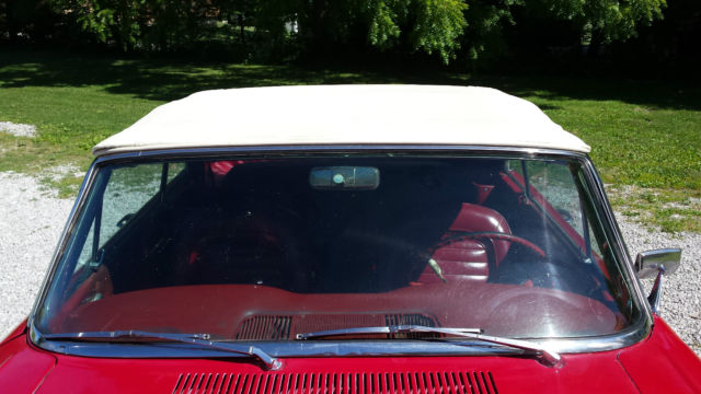 59409 1963 Ford Falcon Convertible Sprint Clone