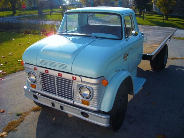 Dump Truck For Sale By Owner >> 1963 Ford N600 Vintage Classic COE LCF Farm / Hay / Grain / Dump Truck /Big Job for sale - Ford ...
