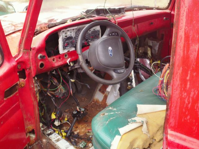 1963 ford truck Crown vic swap  for sale - Ford F-100 1963