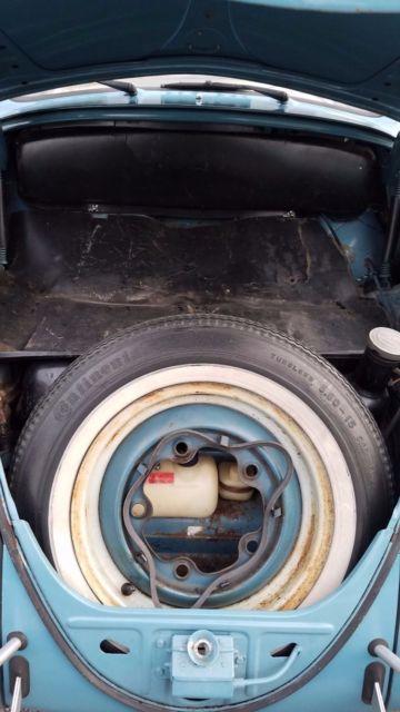 1963 Gulf Blue Beetle For Sale Volkswagen Beetle