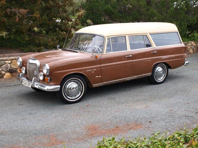 1963 mercedes benz 190d binz coachbuilt fintail station wagon kombiwagen for sale mercedes. Black Bedroom Furniture Sets. Home Design Ideas