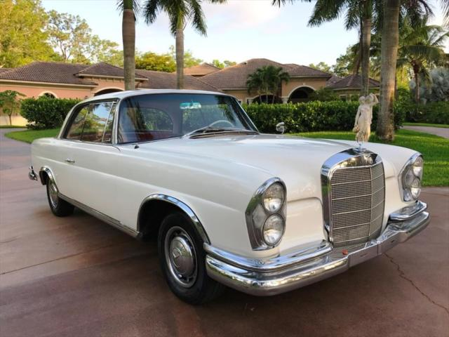 1963 mercedes benz 200 series 220 se b 0 white for 1963 mercedes benz 220s for sale