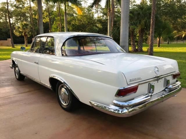 1963 mercedes benz 200 series 220 se b 0 white for B series mercedes benz