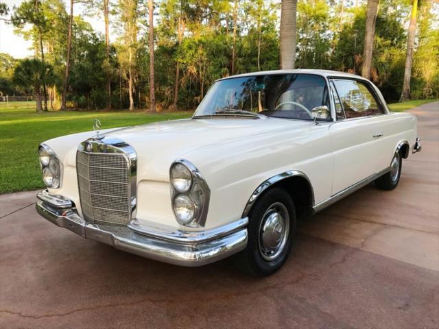 1963 mercedes benz 200 series 220 se b 0 white for Mercedes benz naples florida