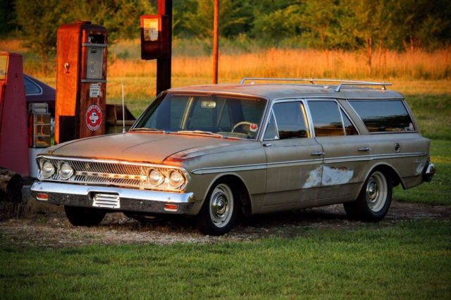 1963 rambler wagon 770 cross country ls swap patina shop truck hotrod wagon for sale amc wagon. Black Bedroom Furniture Sets. Home Design Ideas
