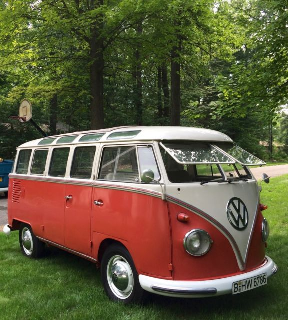 1963 red white vw 23 window van for sale volkswagen 23 for 1963 vw 23 window bus for sale