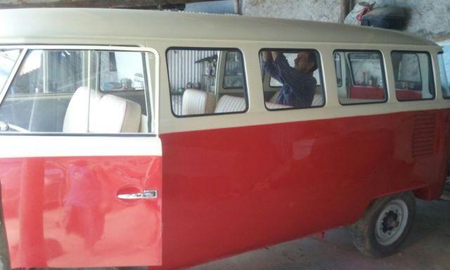 1963 style volkswagen deluxe bus vw van rare 15 window for for 15 window bus for sale