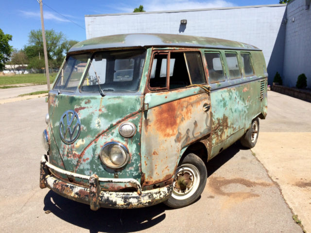 1963 volkswagen vw bus van kombi style bus 11 window for 1963 vw 23 window bus for sale
