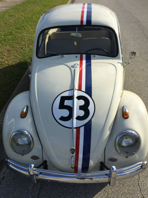 1963 Vw Bug Classic Beetle Herbie Tribute Great Florida