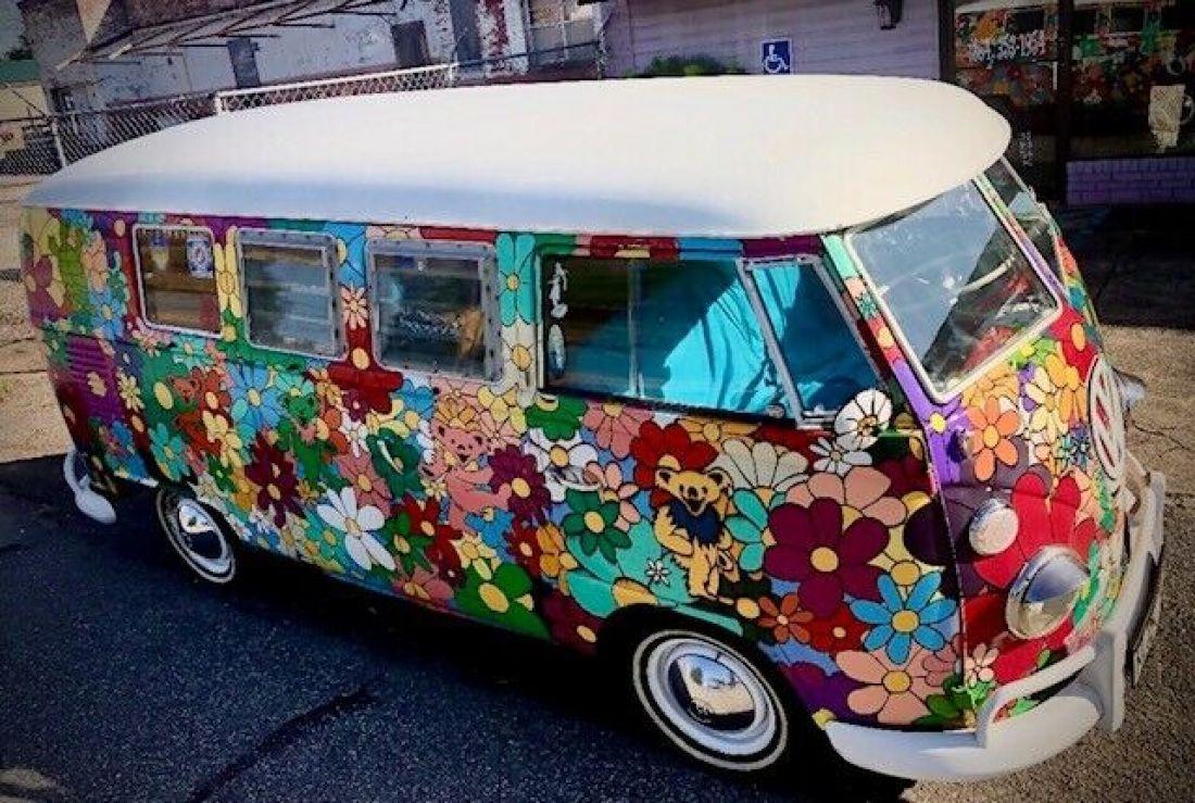 1963 VW Real German Camper Grateful Dead Hippie Bus Hand