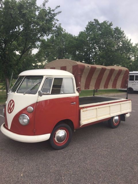 1963 Vw Type 2 Transporter Single Cab Nice Interior Fresh