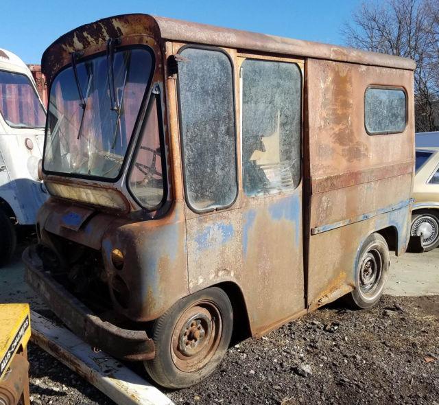 1963 Willys Jeep FJ3 Fleetvan RHD Mail Truck Step Van ...