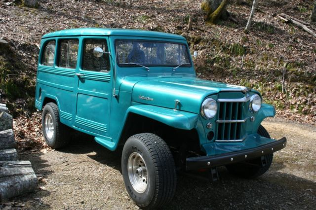 Jeep Cherokee Motor Mounts >> 1963 Willys station wagon 4WD for sale - Willys Station ...