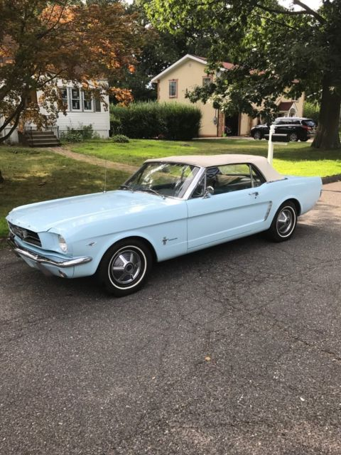 1964 1 2 ford mustang convertible d code for sale ford mustang 1965 for sale in stamford. Black Bedroom Furniture Sets. Home Design Ideas
