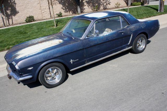 1964 1 2 ford mustang v8 f code original california car for sale ford mustang deluxe 260 v8. Black Bedroom Furniture Sets. Home Design Ideas