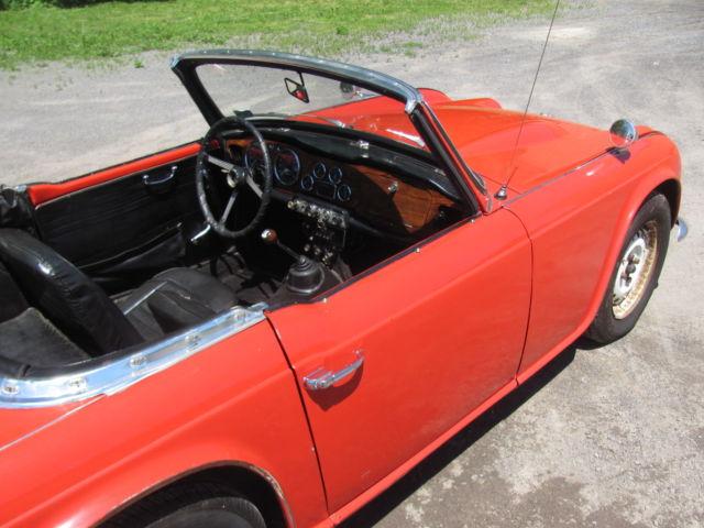 1964 64 Triumph Tr4 Project Car Parts 1963 Production New