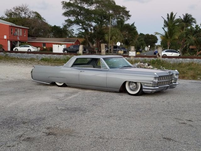 1964 cadillac coupe deville air ride accuair bagged hot for 429 cadillac motor for sale