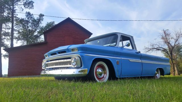 1964 chevrolet c10 pickup truck big back window long bed custom cab c 10 chevy for sale. Black Bedroom Furniture Sets. Home Design Ideas