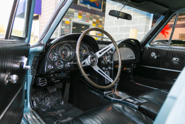 1964 chevrolet corvette coupe correct silver blue new black interior for sale chevrolet. Black Bedroom Furniture Sets. Home Design Ideas