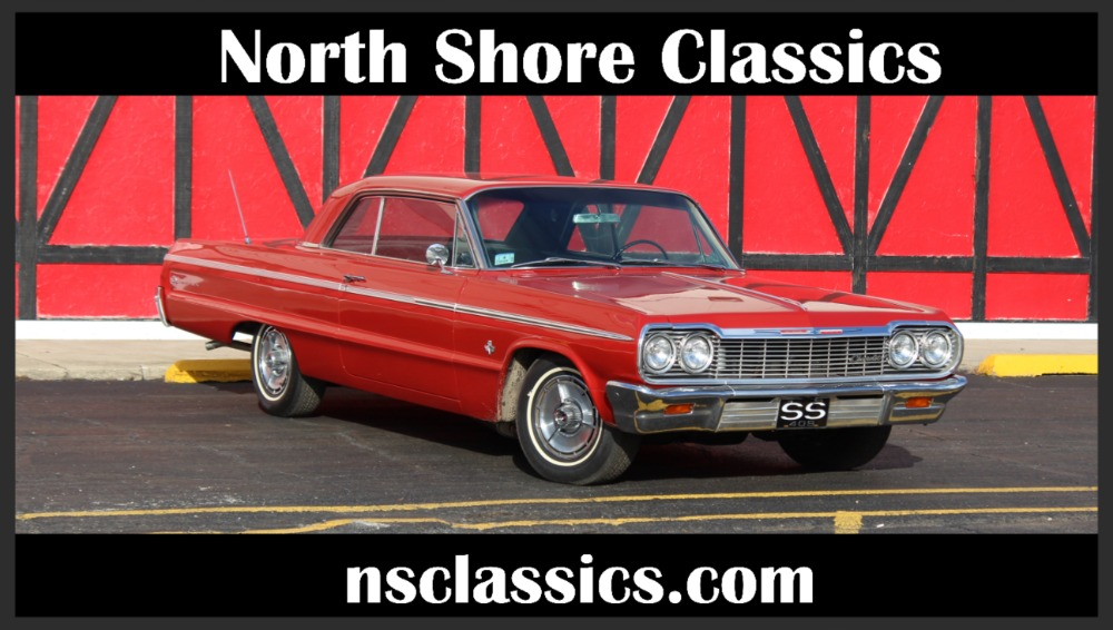 1964 Chevrolet Impala Super Sport 409 With 340hp 4 Speed