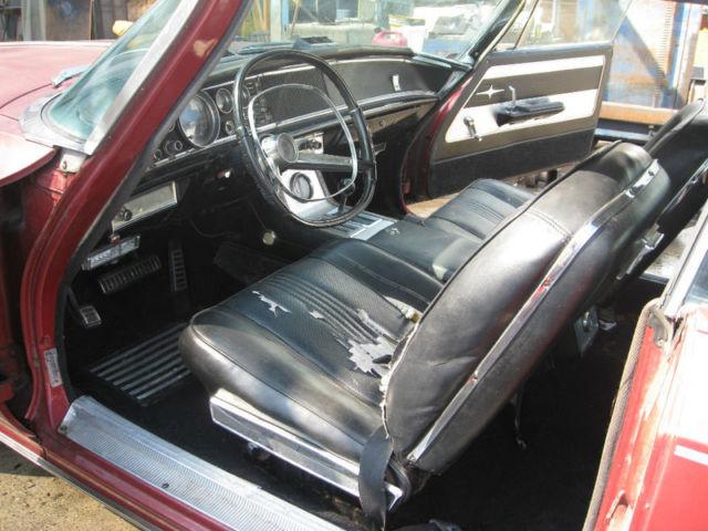 1964 chrysler 300 k letter car 413 4bl maroon black interior california car for sale. Black Bedroom Furniture Sets. Home Design Ideas