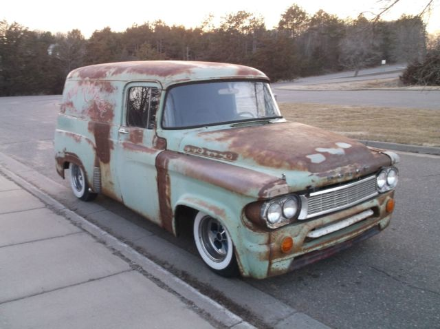 1964 Dodge D100 Panel Van Rat Street Hot Rod 318 V8 904 Auto Patina Ole School For Sale