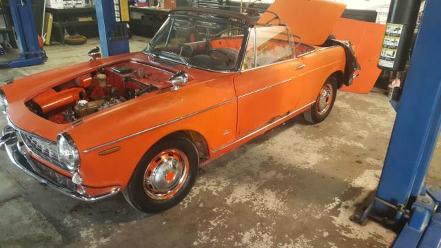 1964 fiat 1500 cabriolet barn find for sale fiat other 1964 for sale in junction city kansas. Black Bedroom Furniture Sets. Home Design Ideas