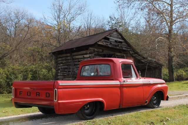 1964 ford f100 air ride cummins for sale