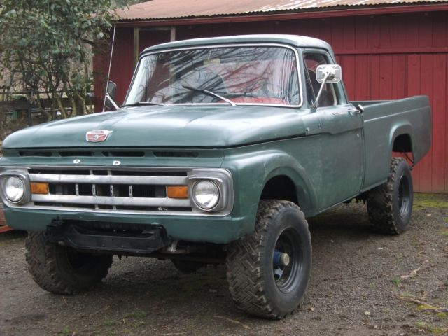 1964 ford f250 3 4 ton factory 4x4 pickup with 352 v8 for sale ford f 250 1964 for sale in. Black Bedroom Furniture Sets. Home Design Ideas
