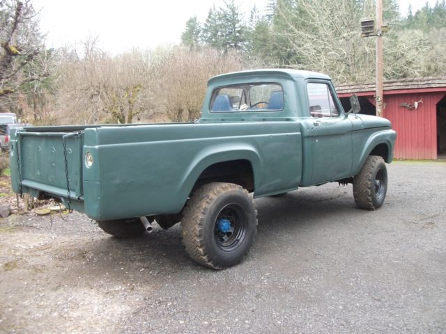 1964 ford f250 3 4 ton factory 4x4 pickup for sale ford f 250 1964 for sale in molalla oregon. Black Bedroom Furniture Sets. Home Design Ideas