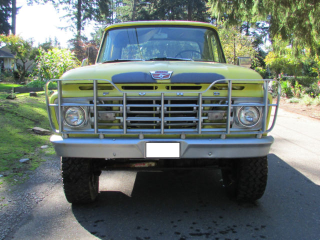 1964 Ford F250 4x4 Customized For Sale Ford F 250 1964