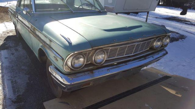 1964 Ford Fairlane 500 2 door hard top V-8 car thunderbolt or sports