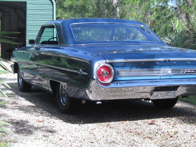 1964 Ford Galaxie XL with 428 engine and 4 speed transmission for