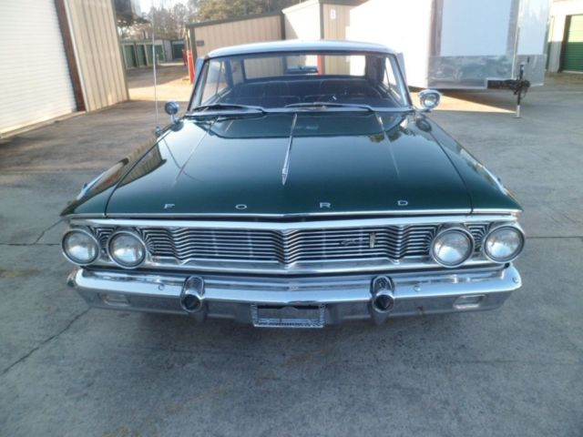 1964 ford galaxy 500 original cascade green 390 v8 automatic p s p b a c for sale ford galaxie. Black Bedroom Furniture Sets. Home Design Ideas
