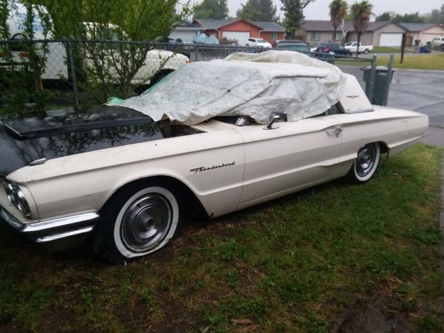 1964 Ford Thunderbird 390 V8 Engine Automatic Transmission Power Window For Sale Ford