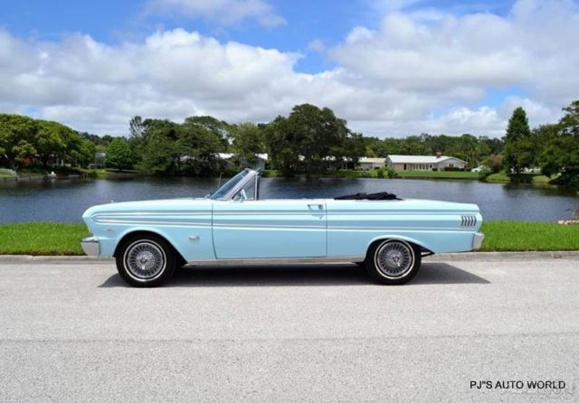 1964 Futura V8 power steering power top Used Automatic Convertible for sale - Ford Falcon 1964 ...