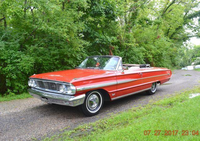 1964 galaxie 500xl convertible 390 loaded zero rust new. Black Bedroom Furniture Sets. Home Design Ideas