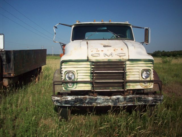 1964 Ford 4000 Diesel : Gmc coe flatbed for sale other