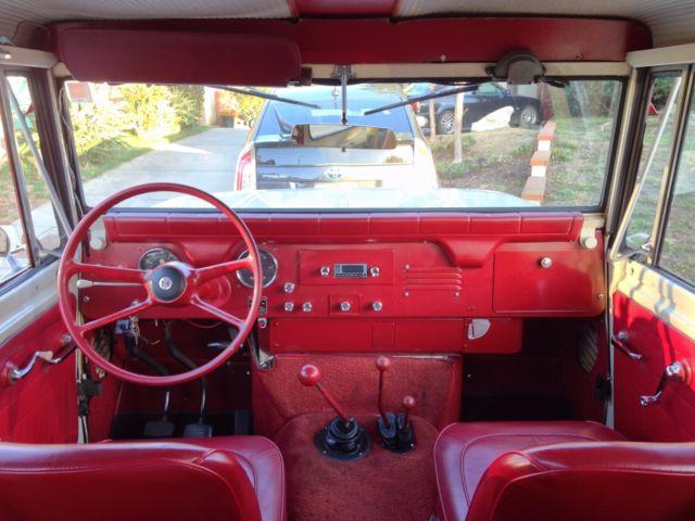 1964 International Harvester Scout Red Carpet Special For
