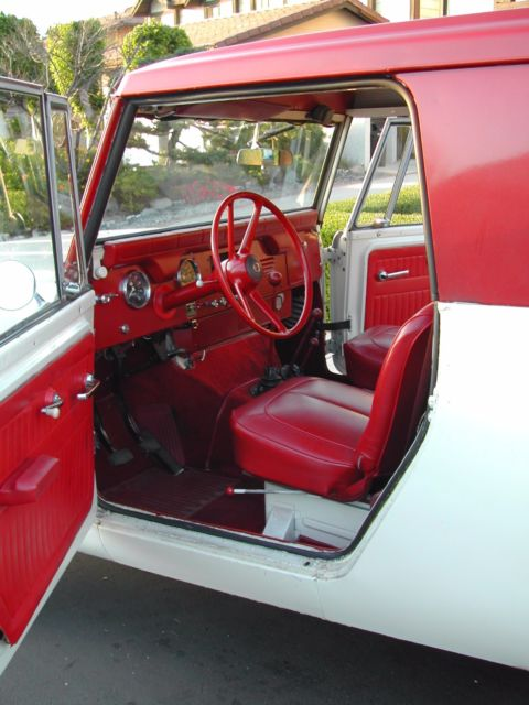 Car Floor Carpet >> 1964 International Harvester Scout Red Carpet Special for sale - International Harvester Scout ...