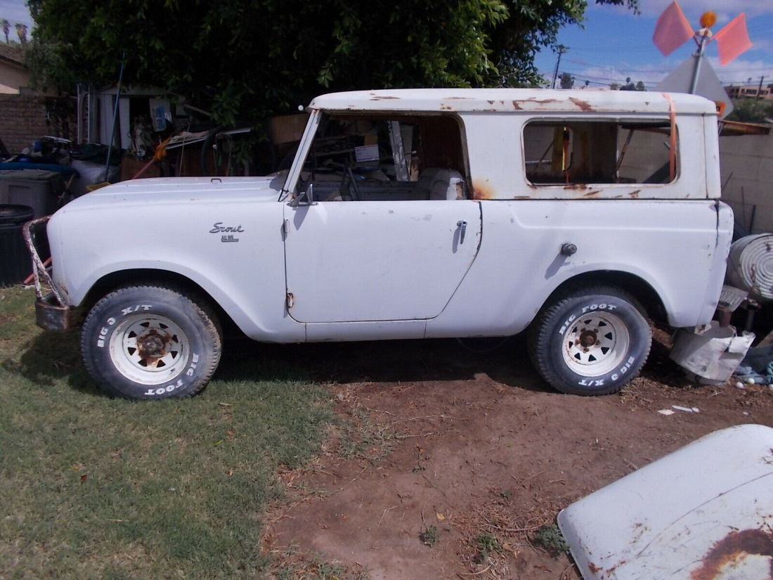 1964 International Ih Scout Pickup Half Cab Full Top As Is As Found No Title For Sale International Harvester Scout 1964 For Sale In Yuma Arizona United States