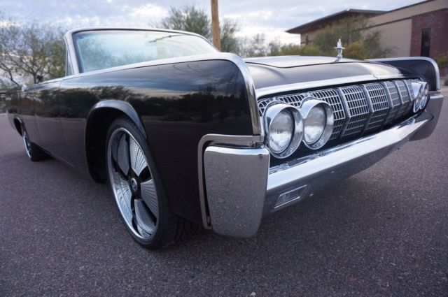 1964 lincoln continental convertible celebrity owned. Black Bedroom Furniture Sets. Home Design Ideas