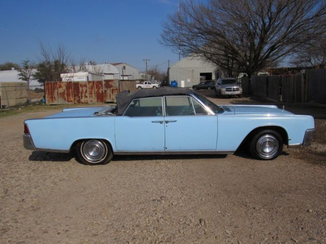 1964 lincoln continental convertible project for sale lincoln continental 1964 for sale in. Black Bedroom Furniture Sets. Home Design Ideas