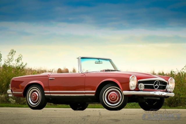 1964 Mercedes 230sl W Pagoda Hardtop Low Miles Manual