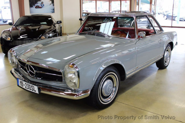 1964 mercedes benz sl 230 pagoda for sale mercedes benz for Mercedes benz san antonio parts
