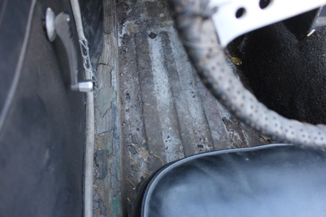1964 MGB STEEL DASH CONVERTIBLE RESTORATION STARTED  for