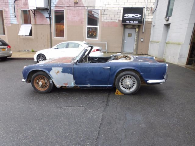 1964 Triumph TR4 with Running Engine for Total Restoration